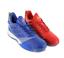 miniature 1 - Adidas Homme T-mac millénaire Boost Basketball Chaussures Collegiate Royal et Scarlet