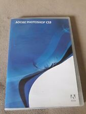 Adobe PHOTOSHOP CS3 Windows Full Retail w/ Serial Number Graphics Image Software
