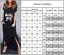 Womens-Short-Sleeve-Round-Neck-Ladies-Summer-Casual-Loose-Maxi-Split-Shift-Dress thumbnail 2