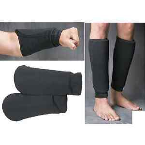 Camo Cloth Shin Instep Guards MMA Karate Taekwondo Kickboxing Sparring TKD Pads