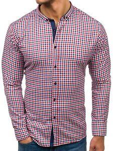 Das Bild wird geladen BOLF-Herren-Freizeithemd-Shirt-Herrenhemd-Hemd-Slim- Fit- 357df9403a
