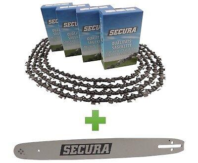 """2 Ketten passend für Einhell GC-PC 1235 30cm 3//8/"""" 45TG 1,3mm Sägekette Schwert"""