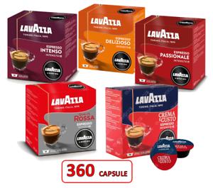 360 LAVAZZA A MODO MIO - 360 CAPSULE ORIGINALI MISTE (5 gusti) cialde capsule
