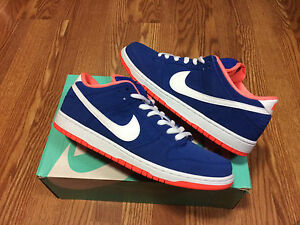 wholesale dealer ff719 acb2a Image is loading NIKE-Sb-Dunk-Low-Pro-Game-Royal-White-