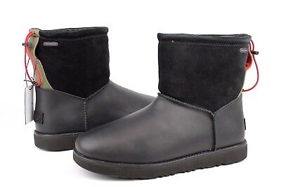 598af78a965 UGG For Men Classic Toggle Waterproof Leather Boots Black Color Mens ...