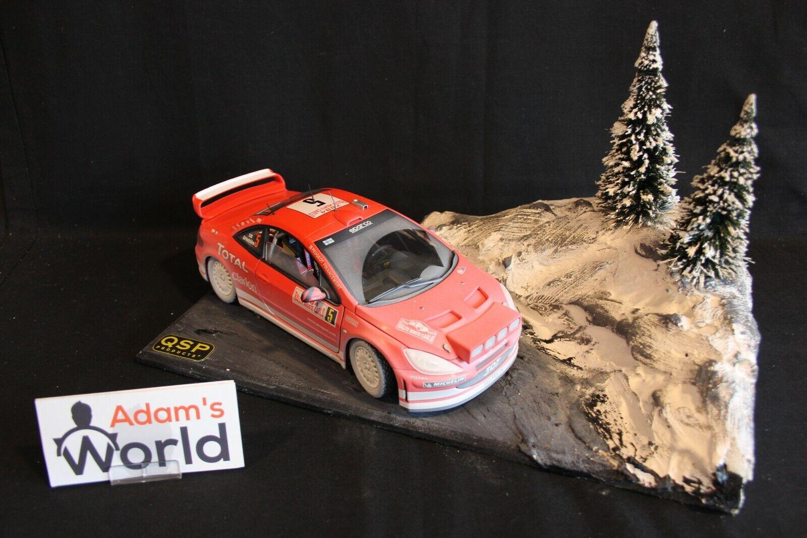 QSP Diorama 1 18 Rallye Monte-Carlo type 3