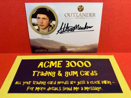 ALBIE MARBER Elias Pound Autograph Card AM Cryptozoic OUTLANDER Season 3
