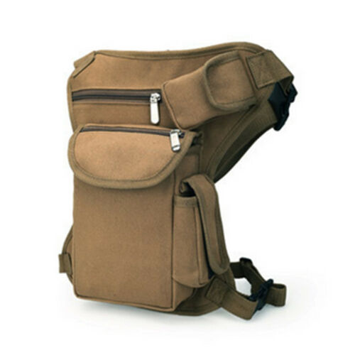 Men/'s Multifunction Outdoor Sport Leg Bag Waist Bag Money Belt Pack Travel Bags