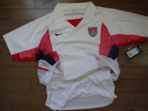 ca61aab19 USA America 100% Authentic Double Layer Player Issue Soccer Jersey M ...