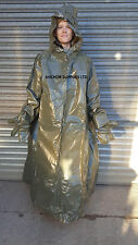 2 x Waterproof Festival Poncho with Hood,Sleeves, Mitts & Boot Protectors