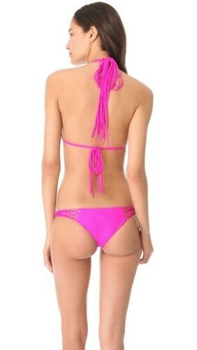 ROCKIES Bottom GUAVA Pink Bikini Set NEW Mikoh swimwear COCONUTS Triangle Top