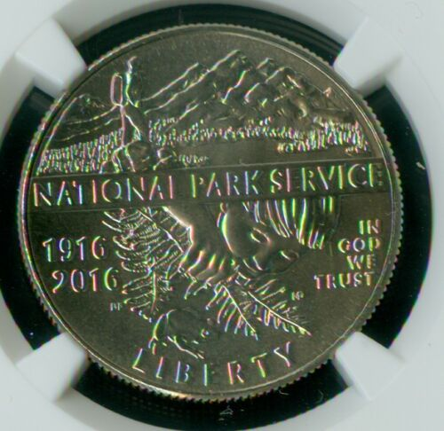 2016-D NATIONAL PARKS HALF DOLLAR NGC MAC MS-69  RAREST IN SERIES 21,028 MINTED