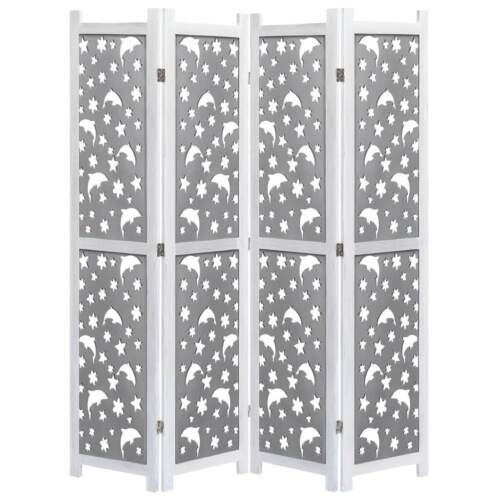 Paravent Room Divider Folding Wall Partition Screen Privacy Seperator 3-6 Panel