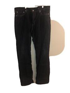 Levis-514-Mens-40-X-32-Jeans-Dark-Blue