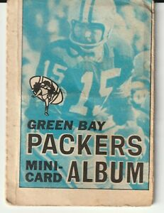 Complete-NFL-Mini-Card-Album-7-Green-Bay-Packers-Topps-1969
