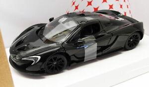Rastar 1/24 SCALA DIECAST MODELLO AUTO 56700-McLaren P1-Nero