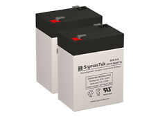 6 Volt 6v 4.5ah Rechargeable Deer Game Feeder Battery - 2 Pack