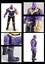 New-Thanos-Marvel-Avengers-Legends-Comic-Heroes-Action-Figure-16CM-Kids-Toys miniature 10