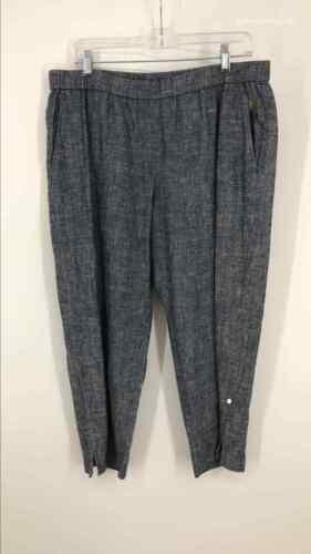 Eileen Fisher Size M Denim Chambray Pants Pants