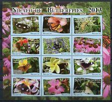 Niuafo'ou 2013 Schmetterlinge Butterflies Papillon Mariposa 527-538 Kleinbogen