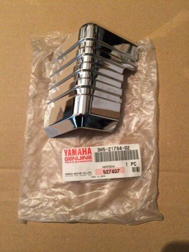 YAMAHA RX125 1978 1979 1980 Side Covers Chromed Badge Set L.H /& R.H N.O.S