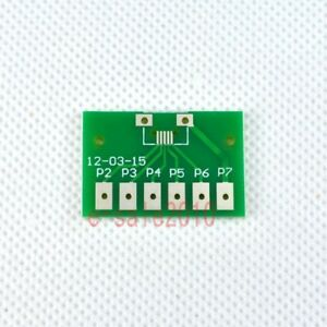5pcs Double-Side SMD SOT223 SOT89 to DIP SIP3 Adapter PCB Board Converter F43