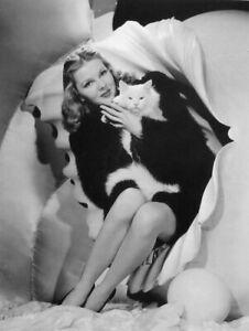 JUDY GARLAND clipping Ziegfeld Follies show 1941 w/ cat B&W photo Broadway revue