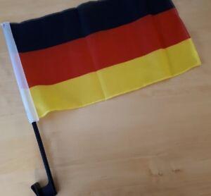 Freundschaftskette Fahnen Flaggen Deutschland Brasilien 15x22cm