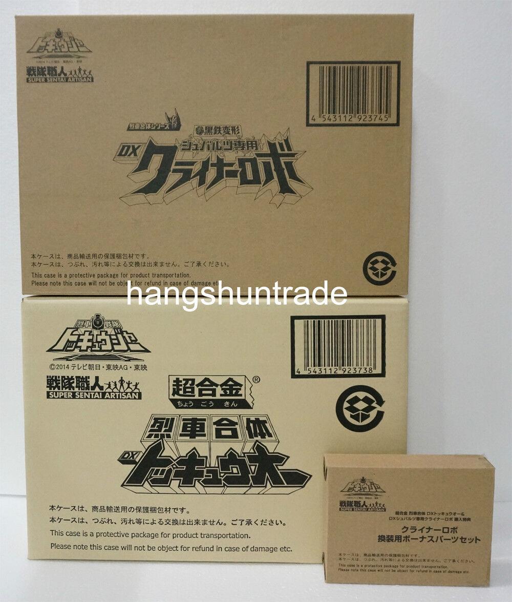 Bandai Tamashii Limited Chogokin toqger Dx toq-oh + cryner Kreiner Robo Set