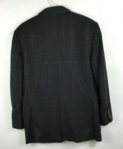 da R 100 lana sportiva uomo uomo Brooks Brothers taglia da Giacca nera Giacca 40 fB0Rx