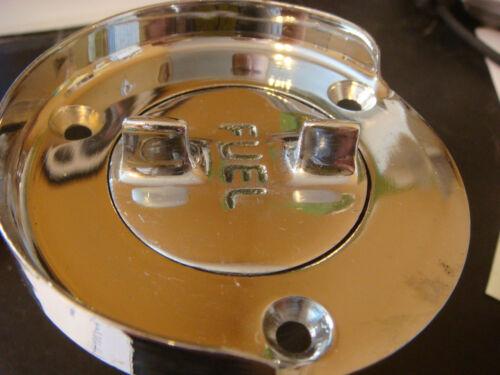 """Gas FUEL Deck fill Splash Guard CHRIS Century Bronze Chrome 1 1//2/"""" for Hose NOS"""