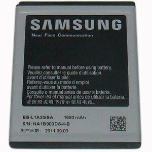 Samsung Galaxy S2 I777 Cell Phone 1650mAh 3.7V Li-Ion 6.11Wh Battery EB-L1A2GBA