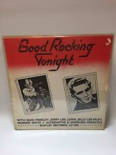 Good Rocking Tonight Bootleg 1974 Ex+ Elvis Jerry lee lewis,Bobcat Records BLp