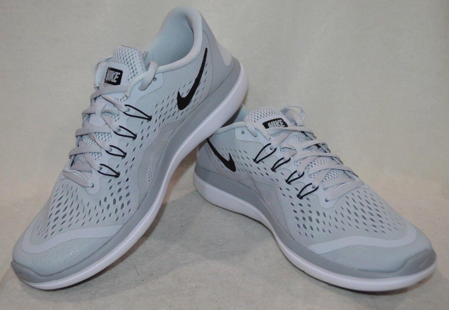 2c29da4f5662 Nike Flex 2017 RN Running Mens Shoes Platinum Grey 898457-002 11.5 ...