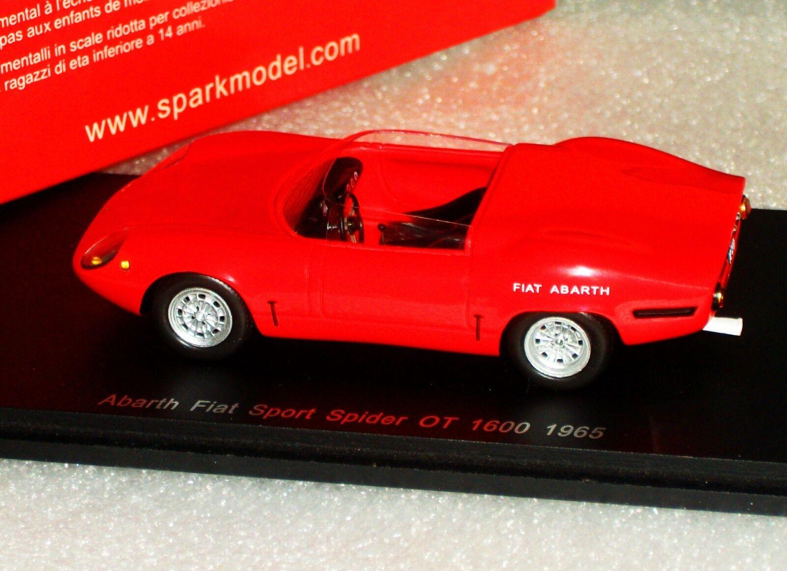 Fiat Abarth Sport Araña OT 1600 1965 Spark S1319 1 43