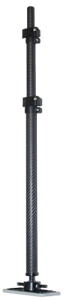 """Vico Marine Carbon Fiber 57/"""" Support Pole with Rubber Base"""