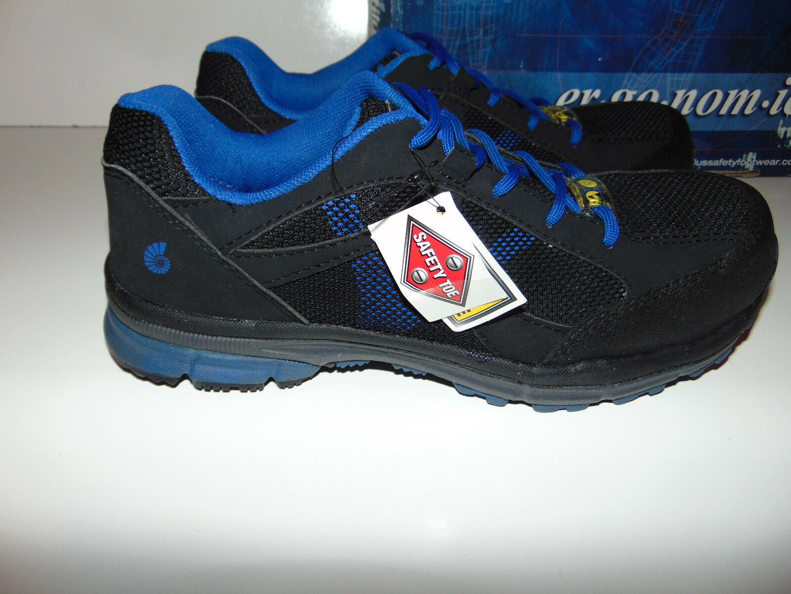 e3228fd21aba ... Nautilus Men s Blue Athletic Work Shoes Shoes Shoes - STEEL Toe - N1731  ALL SIZES ...