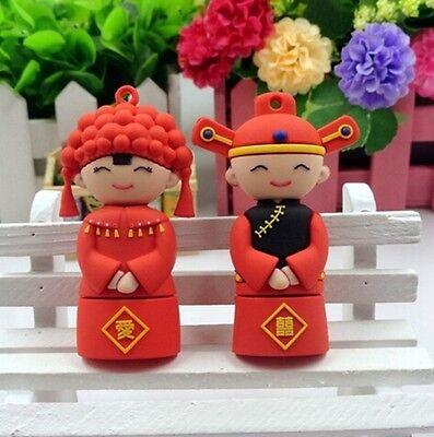 Wedding gift Bridegroom USB 2.0 32GB flash drive memory stick genuine pendrive