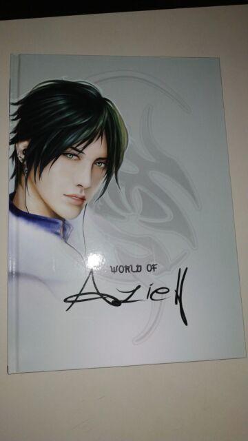 World of Aziell Boys Love Art Book Artbook Yaoi Illustration Deutsch English