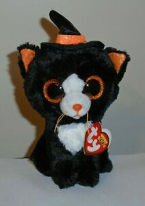 Ty Beanie Boos Witchie The Halloween Cat (6 Inch) 2019 MWMT in Hand