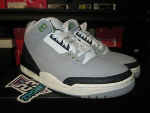 ce15c3127d4671 2018 AIR JORDAN 3 RETRO CHLOROPHYLL SMOKE GREY GREEN BLACK III ...
