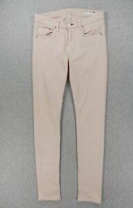 4638dd310 Rag & Bone SKINNY Jeans (Womens Size 28) Peaches and Cream   eBay