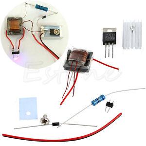 Details about DIY kit DC High voltage HV Generator Inverter Electric  Ignitor for 18650 Battery