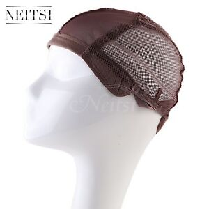 862610ef4f1 Cheap Lot Wig Cap for Making Wigs Adjustable Straps Breathable Mesh ...
