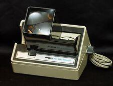 Vintage Argus Film Viewer Slide Projector~Model 693~Electromatic~1970s~WORKS!