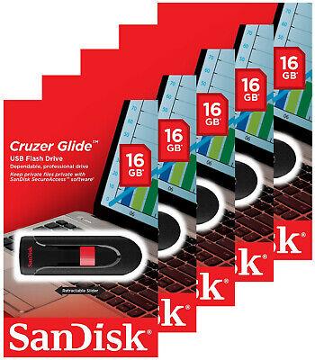 Retail pack Sandisk 16GB Flash Drive ~ USA Seller
