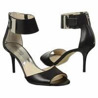 Women's Shoes Michael Kors GUILIANA OPEN TOE Dressy Sandals Leather Black