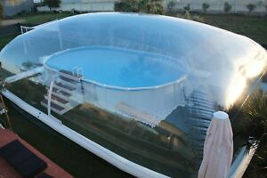 39x19x10Ft-Inflatable-Hot-Tub-Swimming-Pool-Solar-Dome-Cover-Tent