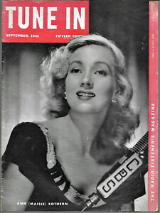 Vintage 1946 TUNE IN radio magazine w SUPERMAN, Lum & Abner, Jack Benny Contest