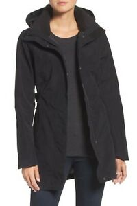 NWT-The-North-Face-Laney-II-TNF-Black-Trench-Jacket-Women-039-s-Small